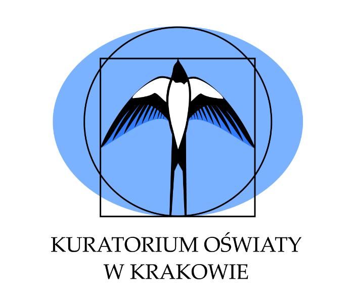 ilustracja z logotypem Kuratorium Oświaty w Krakowie