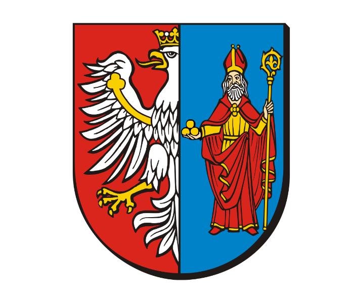 ilustracja z herbem Starostwa Powiatowego w Chrzanowie